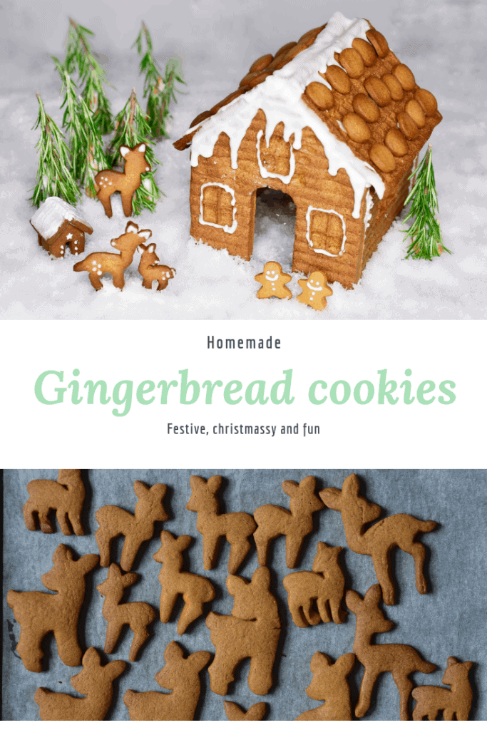 homemade christmas gingerbread cookies recipe