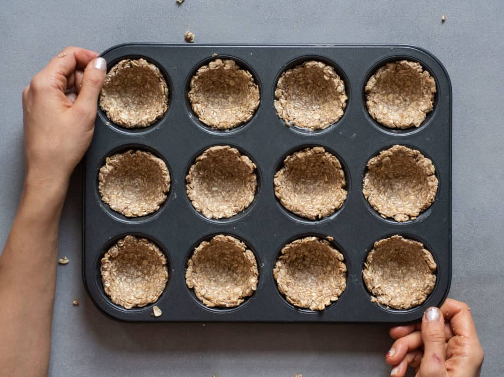ready to bake granola cups