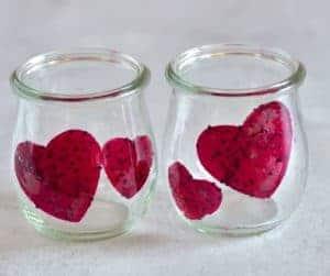 dragon fruit in jar