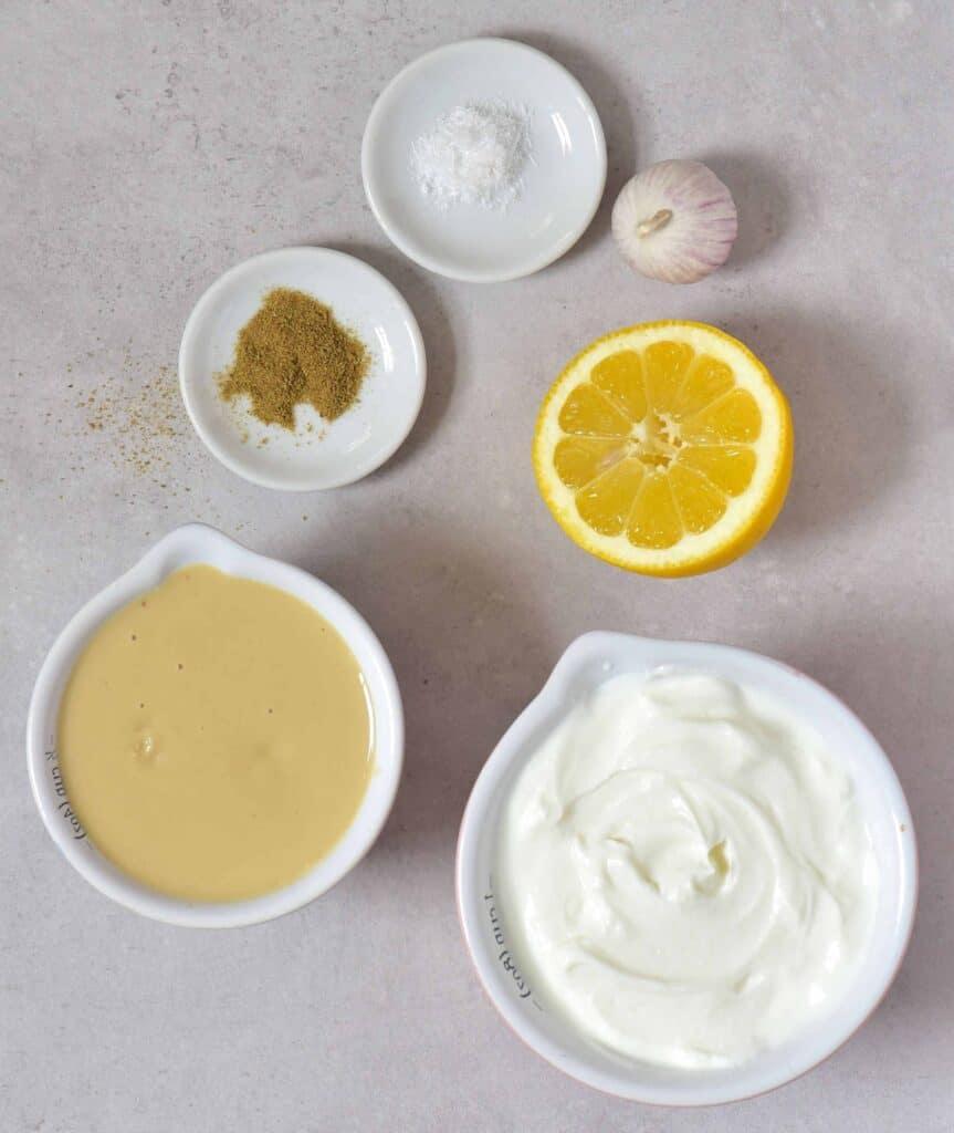 yogurt dip ingredients