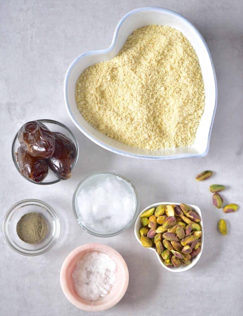 Lemon tart crust ingredients