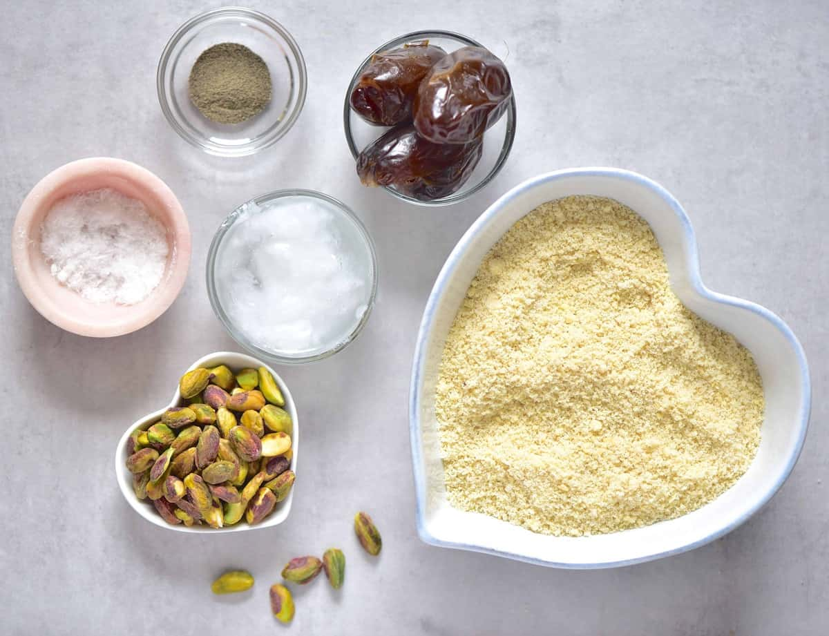 Lemon tart crust ingredients