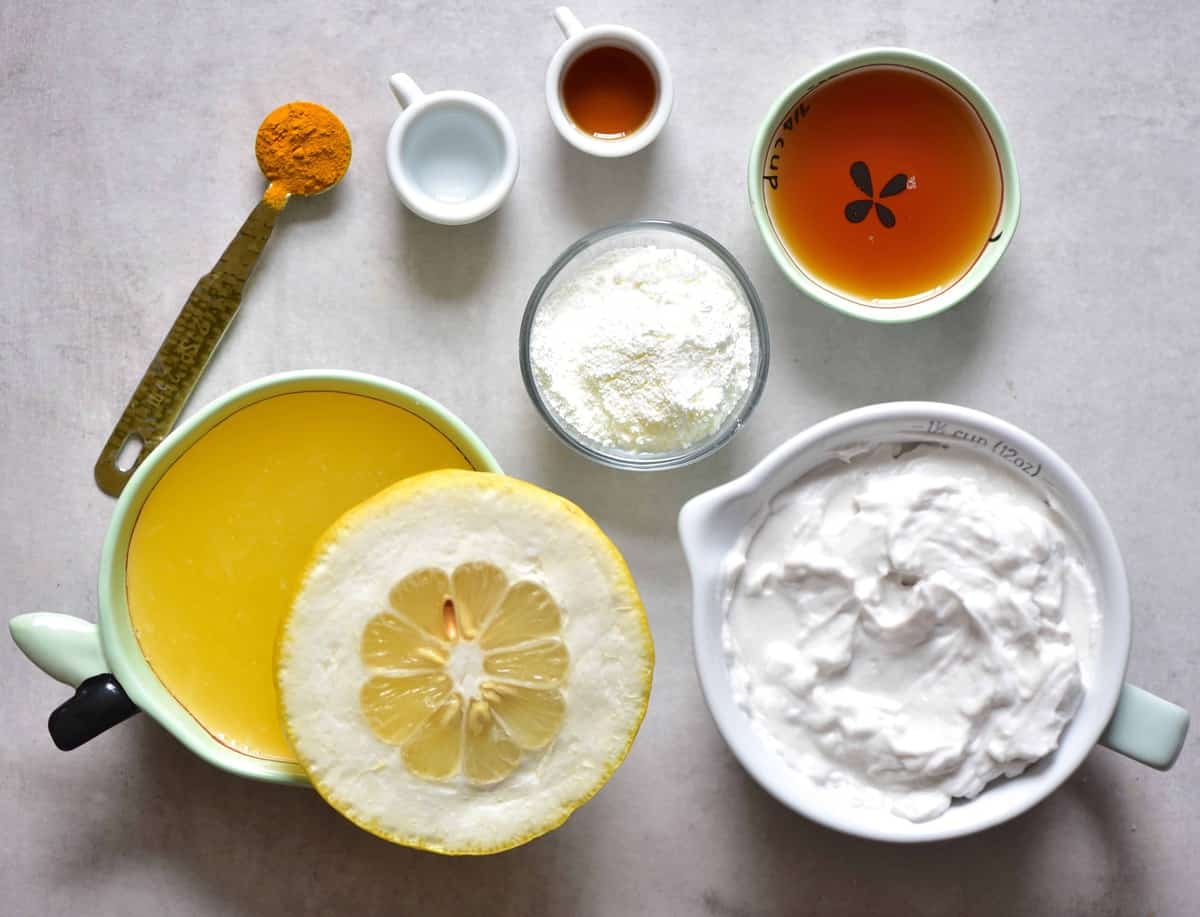 Lemon tart ingredient