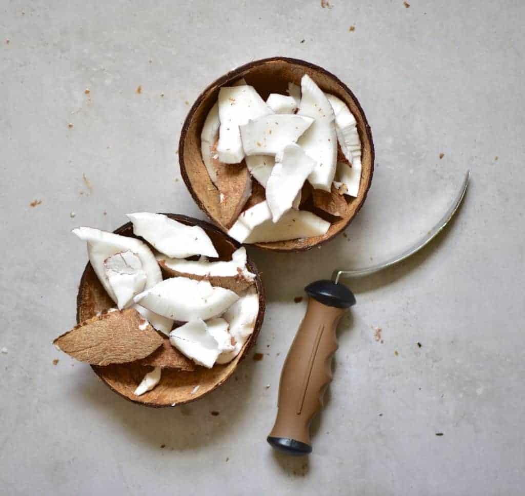 Coconut flesh
