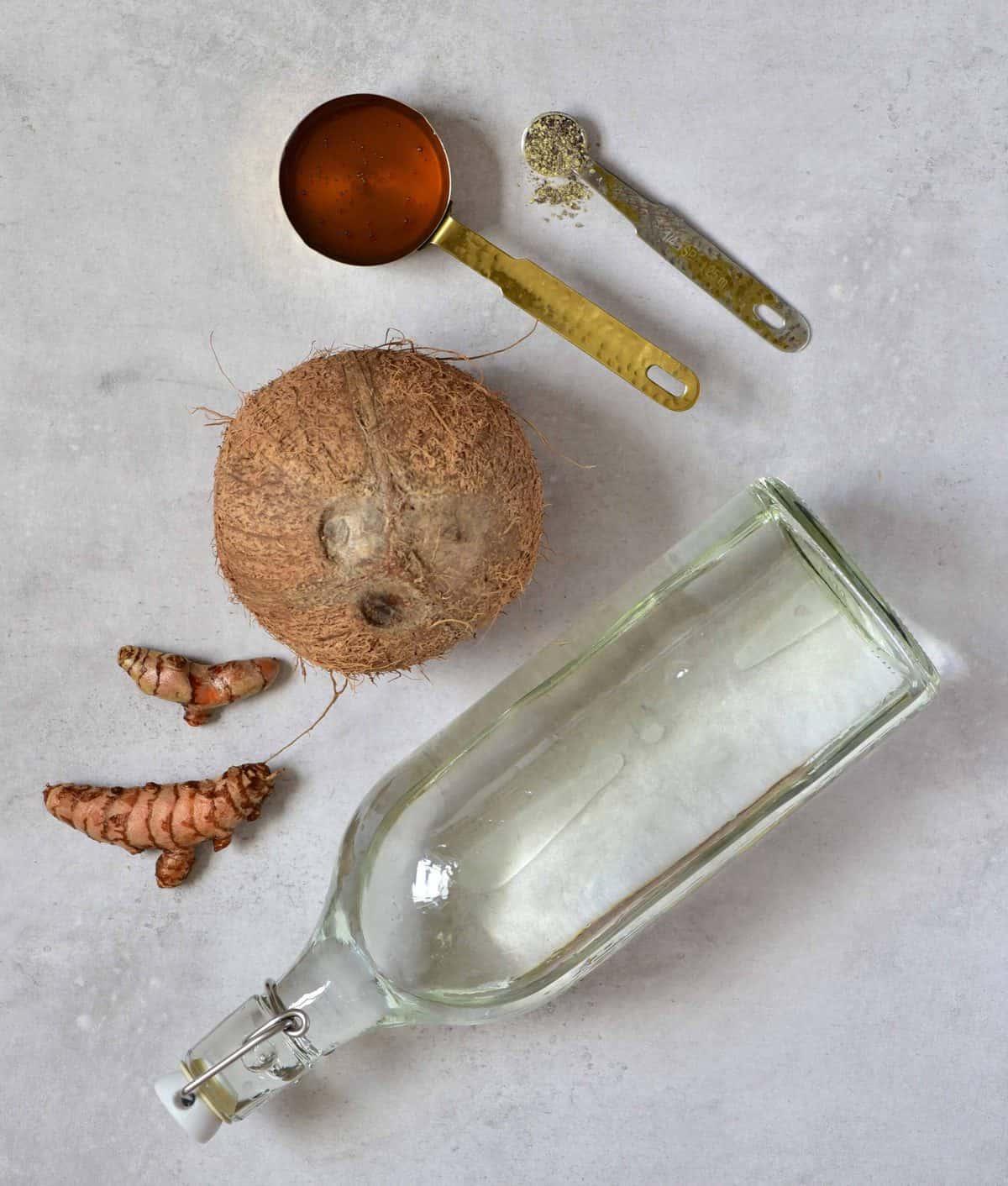 Golden milk - ingredients