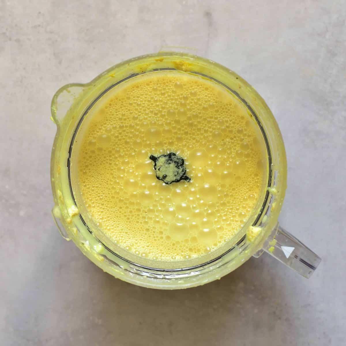 Golden milk - freshly made