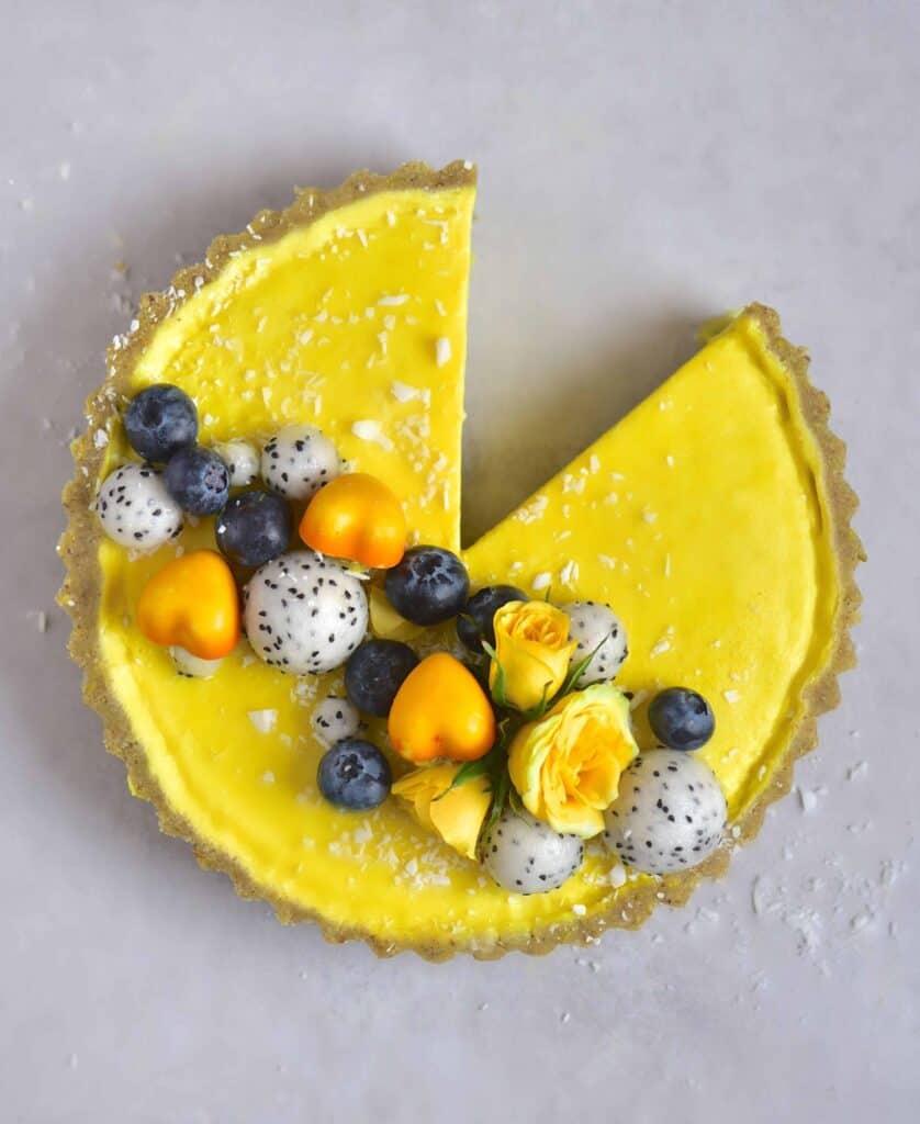 Lemon Turmeric Tart