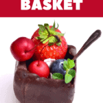 Vegan Avocado Chocolate Mousse Cups