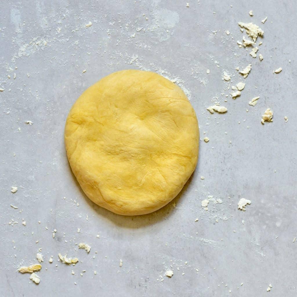 smooth dough ball