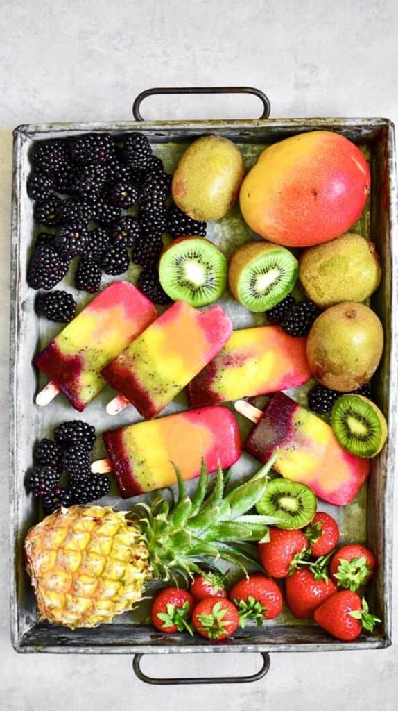 Fruit lollies - A healthy summer treat