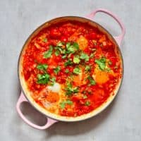 Shakshuka in a large pan