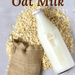 How to make homemade oat milk with just a two ingredient base, that can be flavoured as a delicious dairy-free milk alternative! And, most importantly, how to make oat milk that isn't slimy! A delicious dairy-free milk alternative