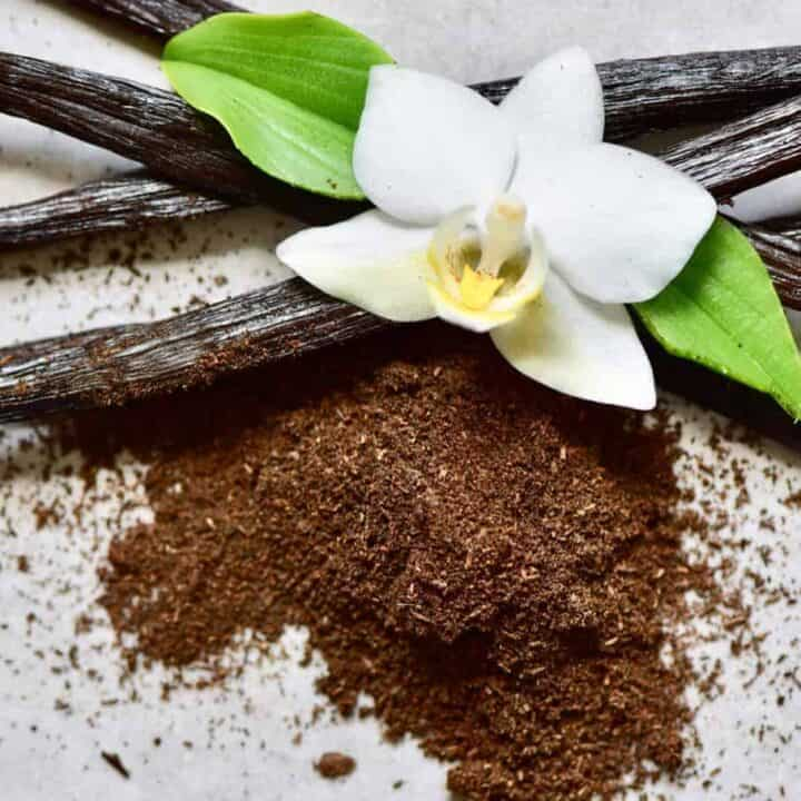 How to make vanilla powder homemade with zero waste