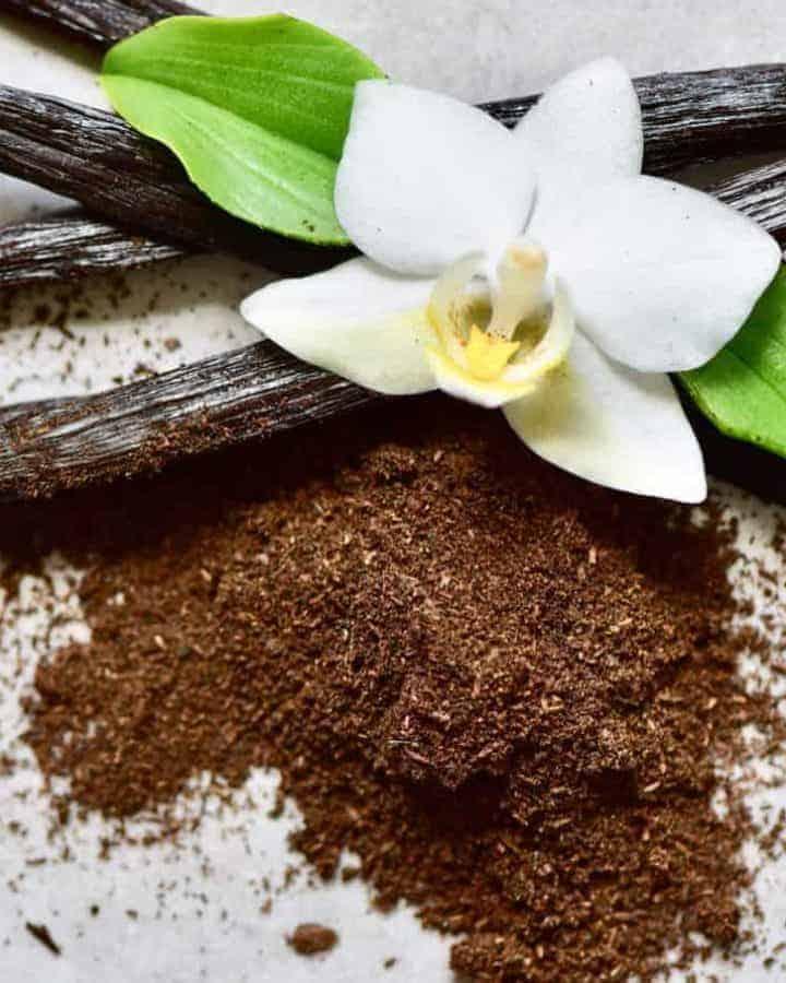 How to make vanilla powder homemade with zero waste