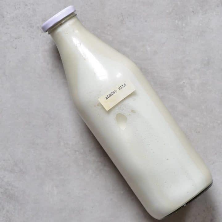 Zero Waste Homemade Almond Milk