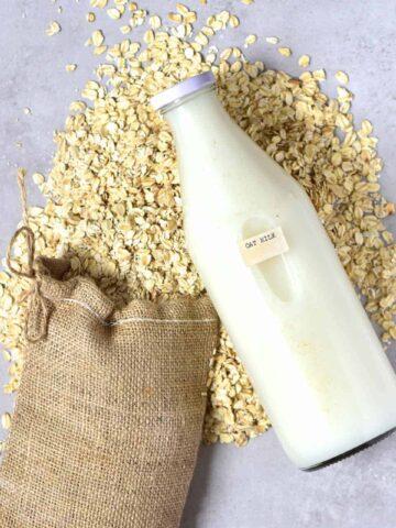 dairy free oat milk