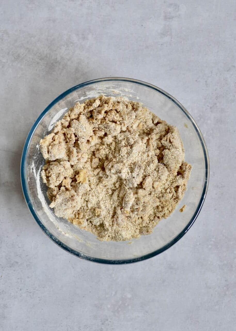 mixing base ingredients