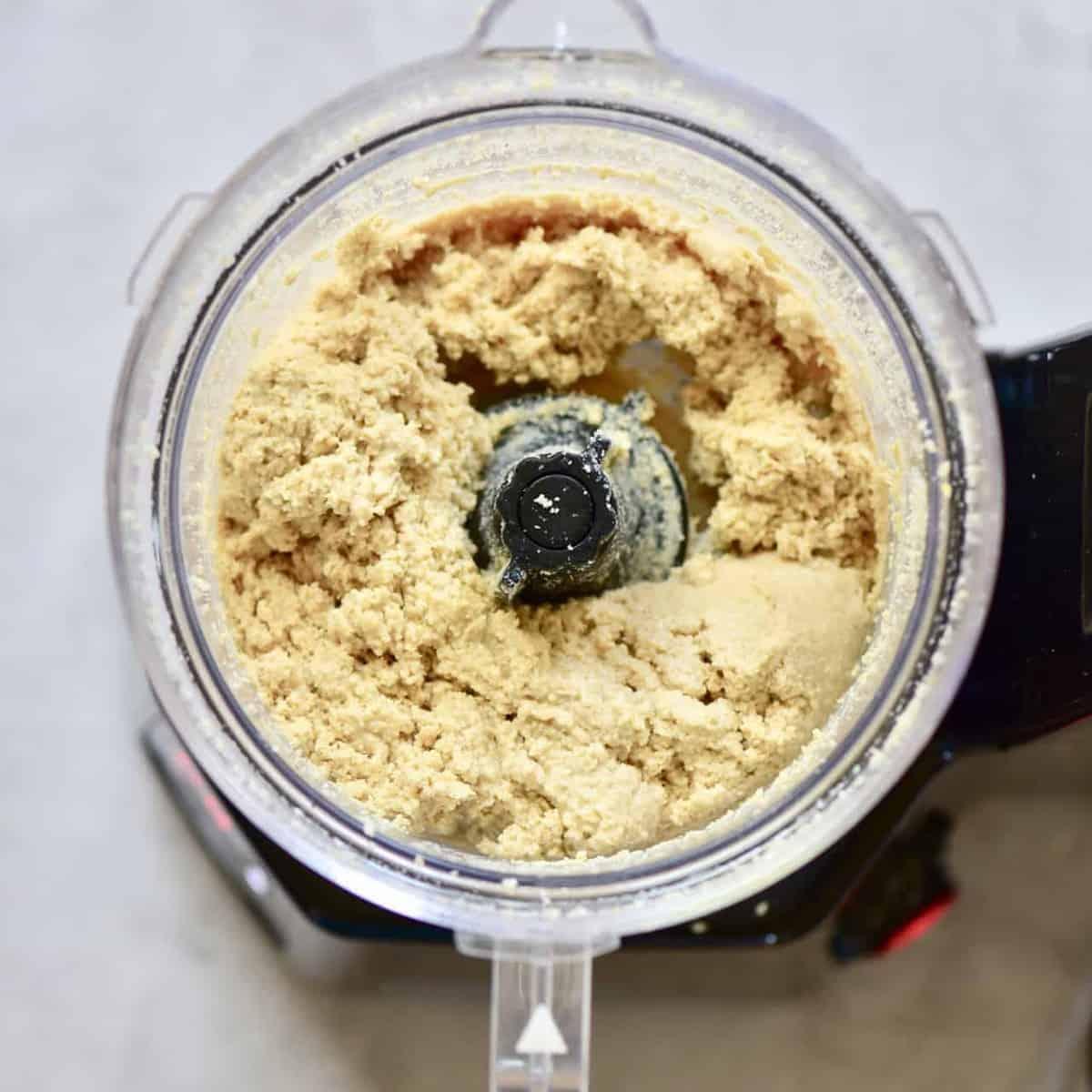 sesame paste in a blender