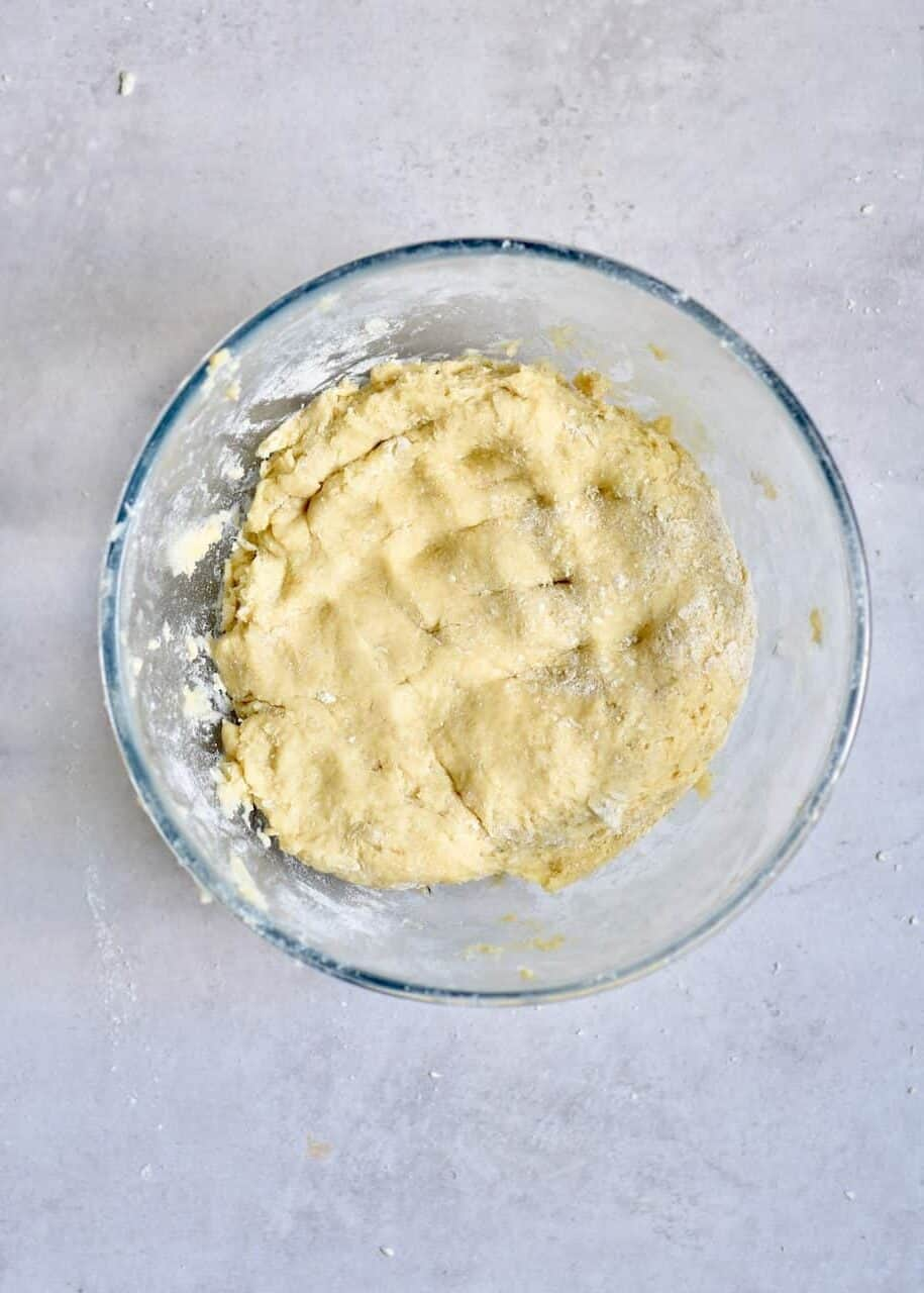 Dough in a bowl