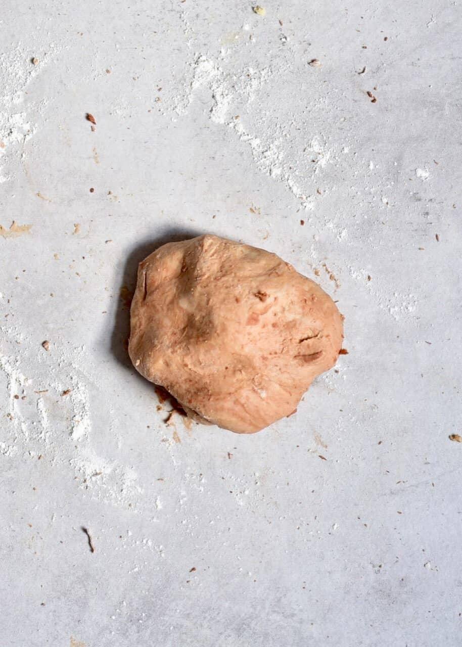 Cacao dough
