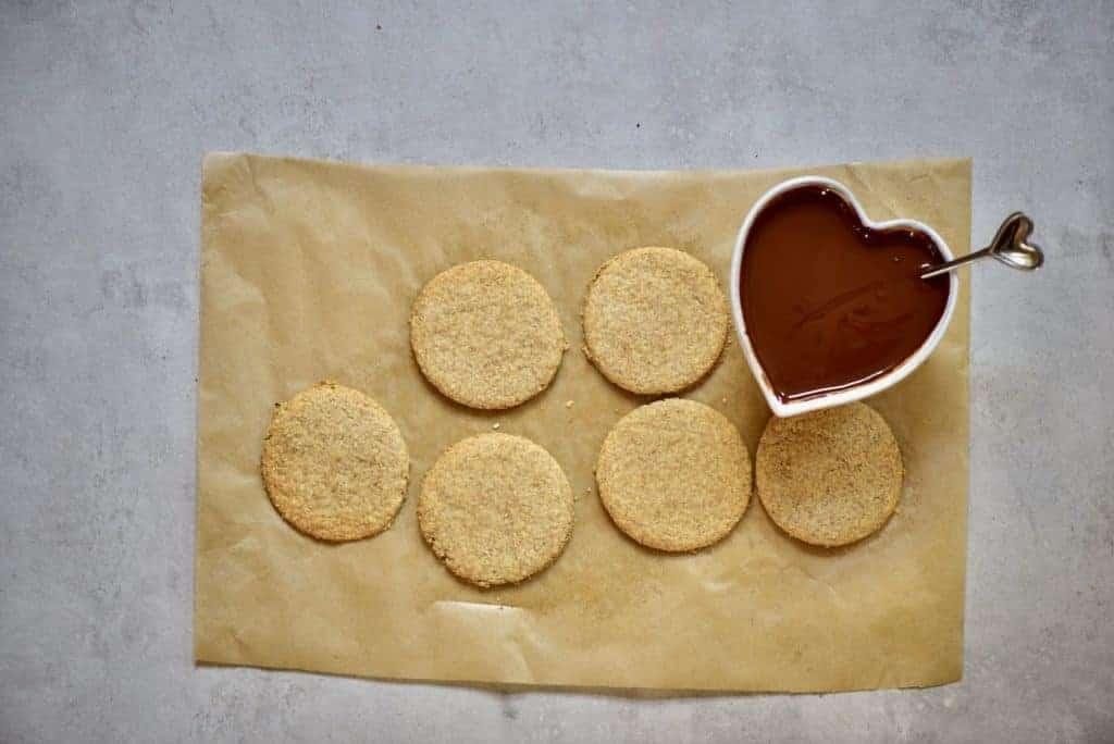 healthy digestive biscuits with reduced sugar