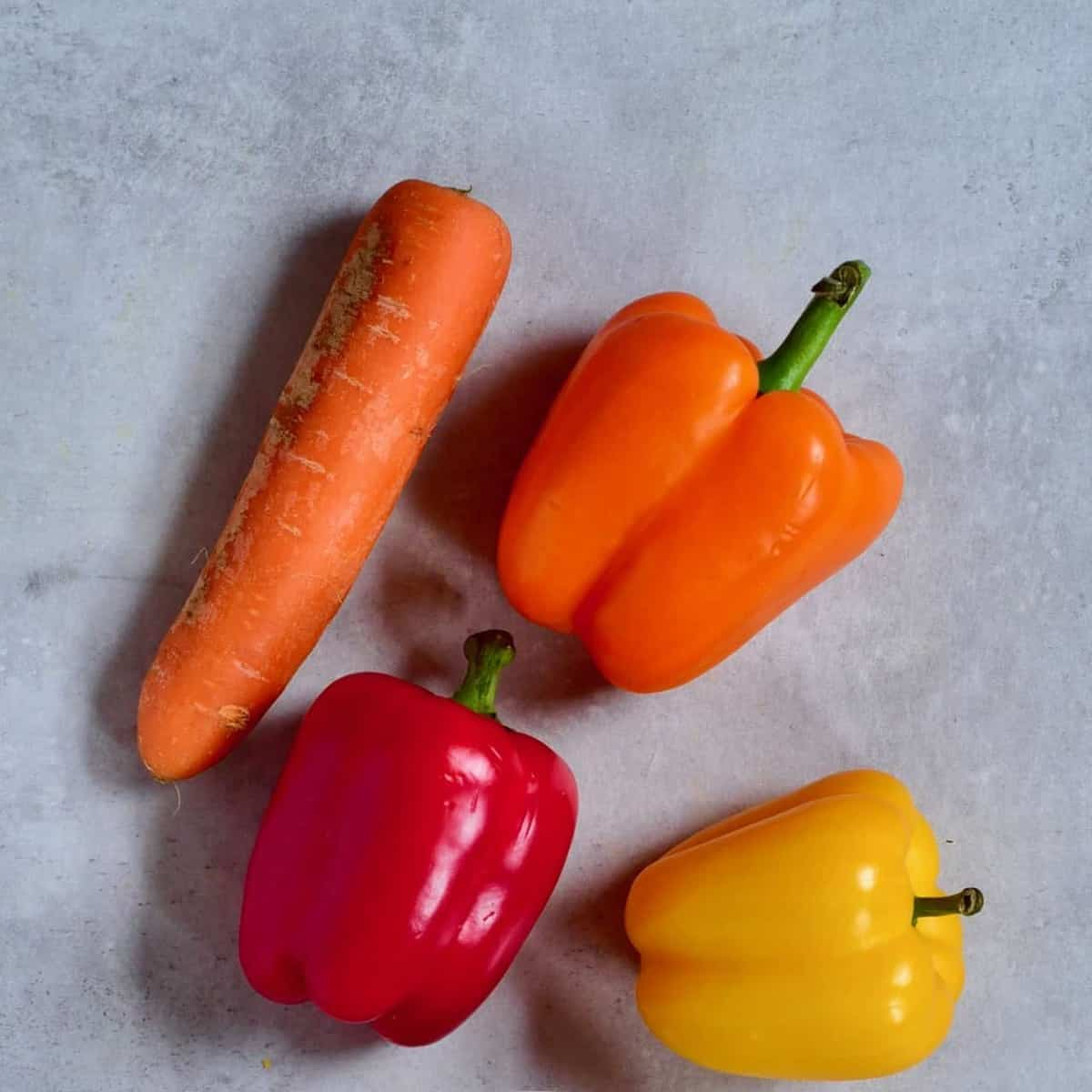 peppers and carrot