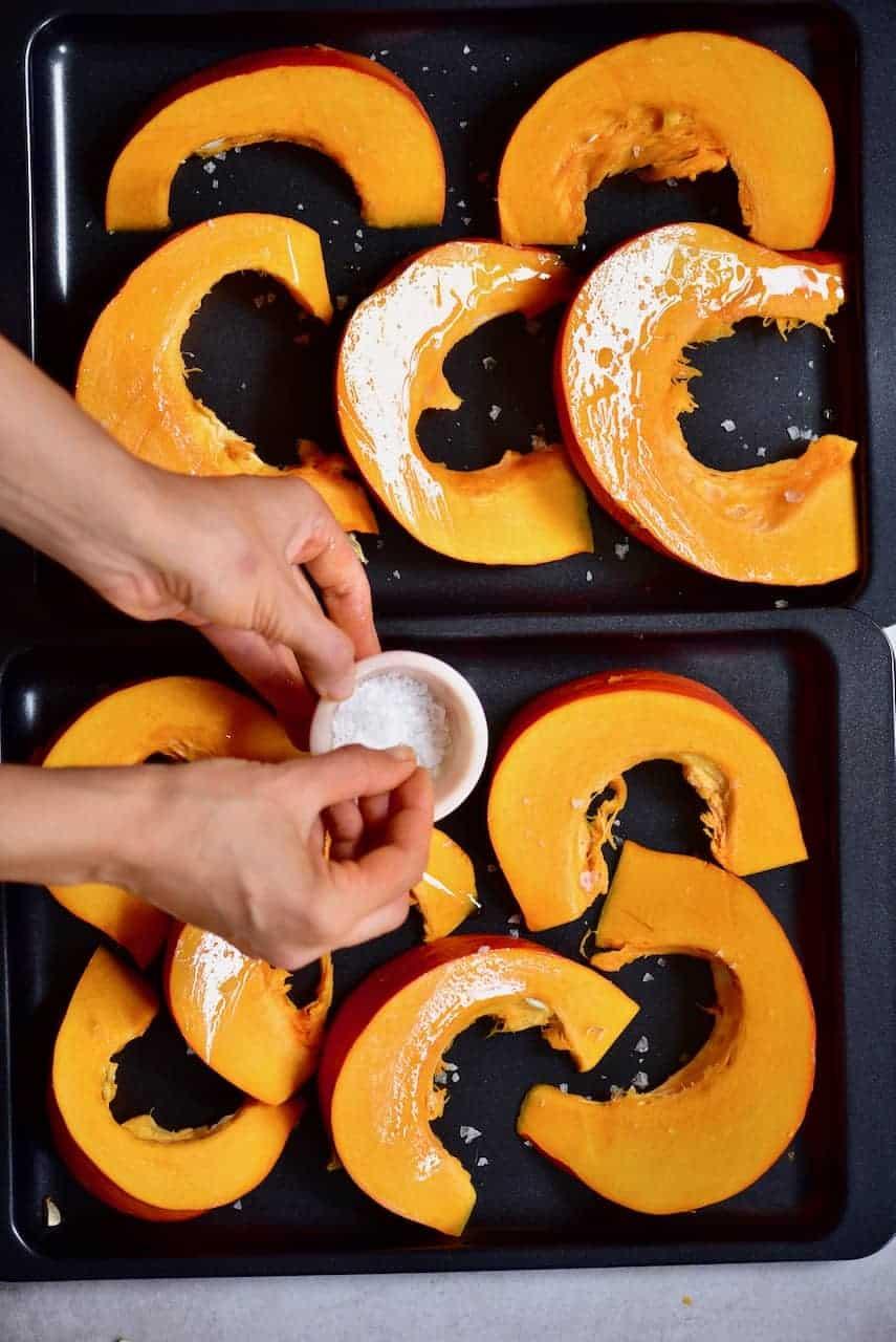 ingredients for pumpkin puree