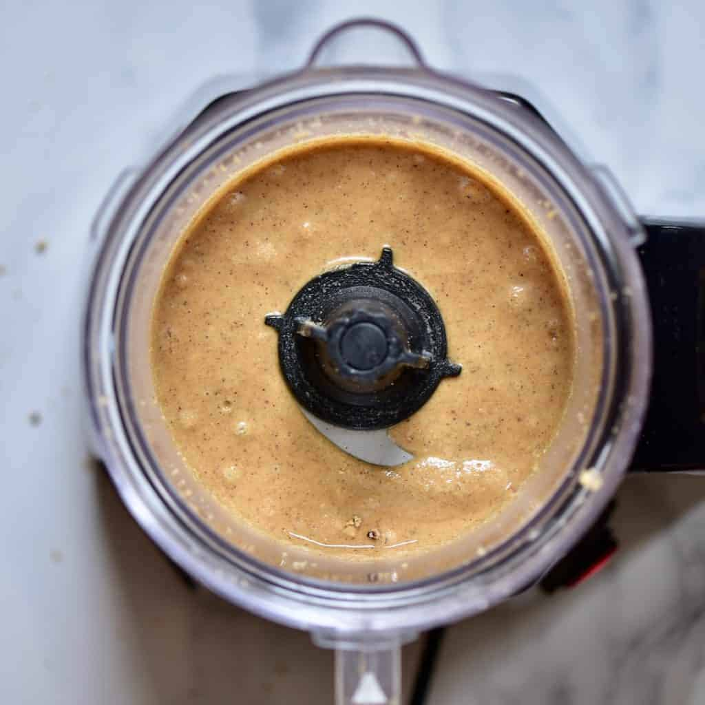 A delicious, Vegan one ingredient homemade brazil nut butter recipe with flavoured brazil nut butter options, health benefits of brazil nuts and brazil nut butter uses!