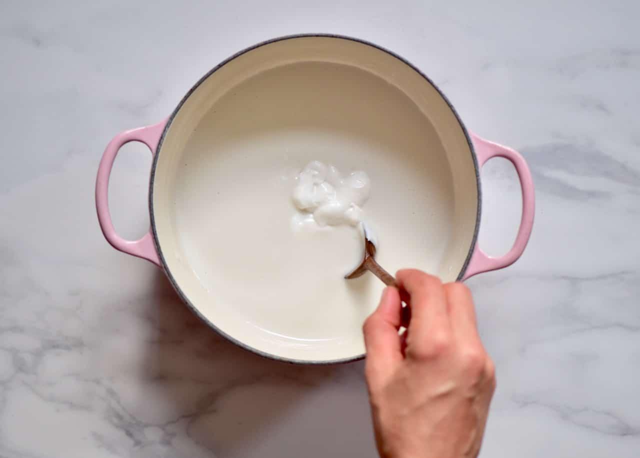 using store-bought yogurt