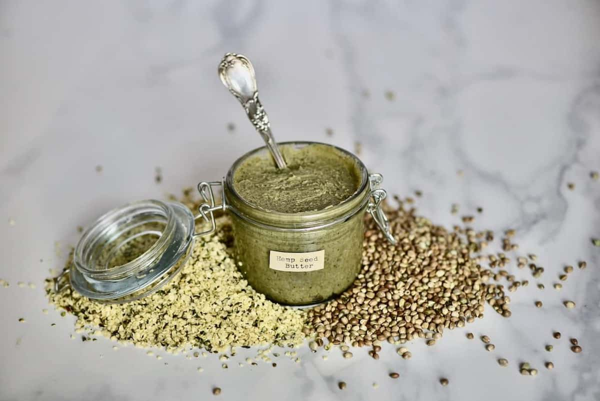 Homemade Hemp Seed Butter Alphafoodie
