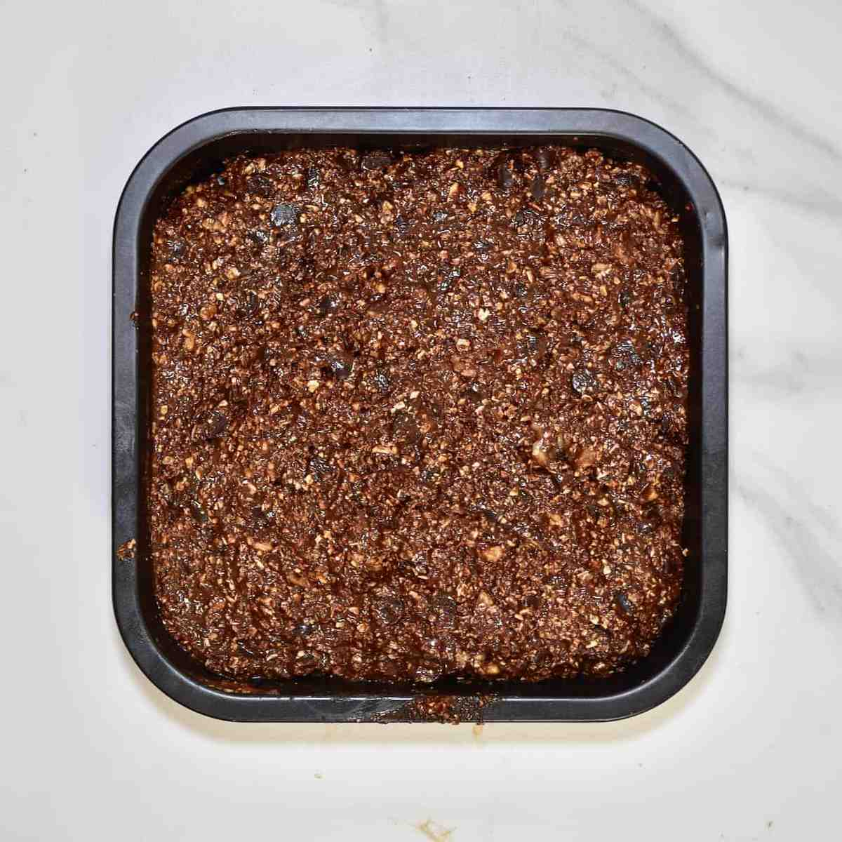 cheap edible Christmas gift. Chocolate and walnut brownies. gluten free and vegan