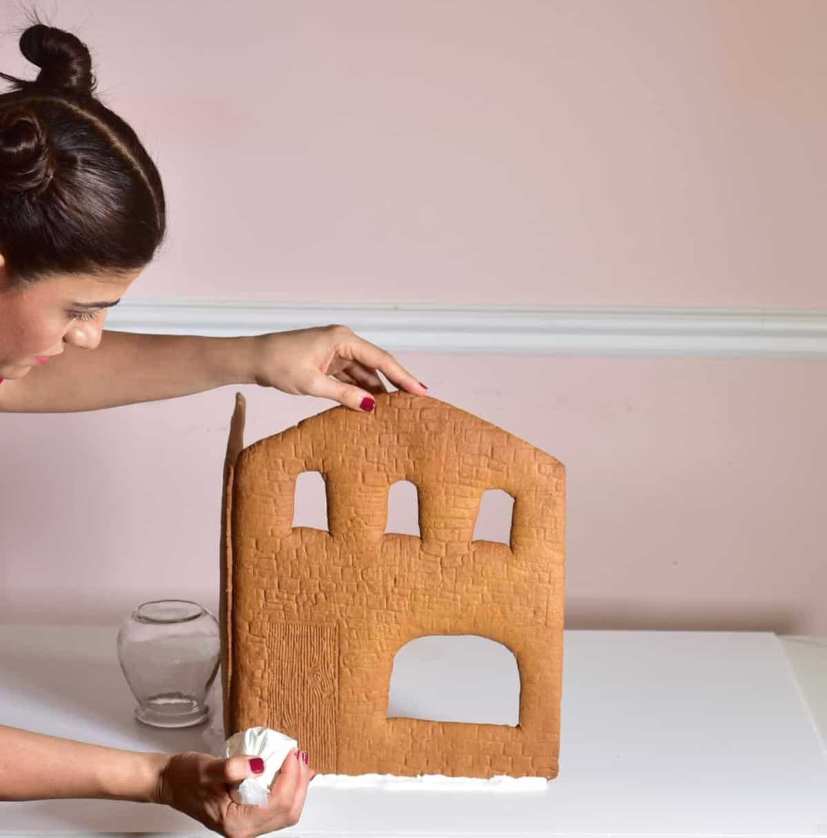 adding a second wall to gingerbread house