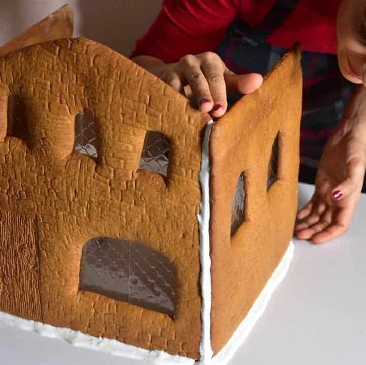 This is an ultimate guide to making the best Christmas gingerbread house, using a customer gingerbread house template and recipe ( that I've included) and tips on how to make a gingerbread house the best way!