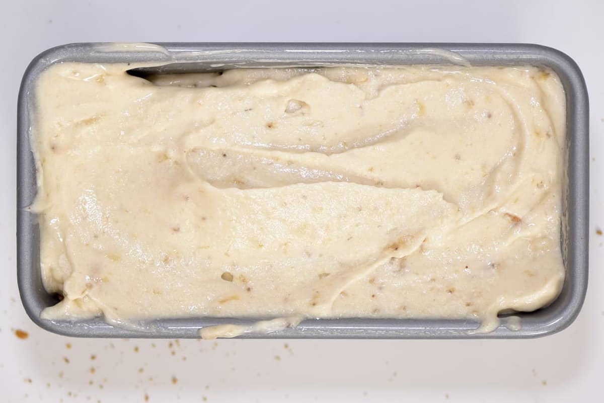 healthy frozen banana christmas ice cream