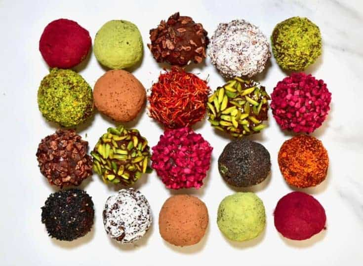 Cacao & Almond Protein Balls