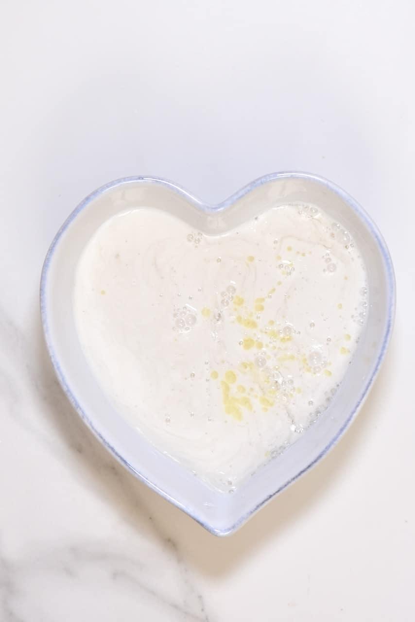easy soap recipe using coconut milk and rose essential oil