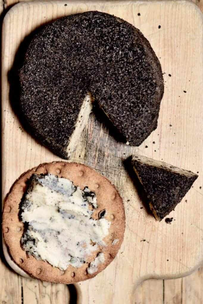 This delicious homemade Vegan Cashew Cheese has a cashew cream cheese centre and peppercorn coating- perfect to be part of a vegan cheese board and for those craving vegan cream cheese.