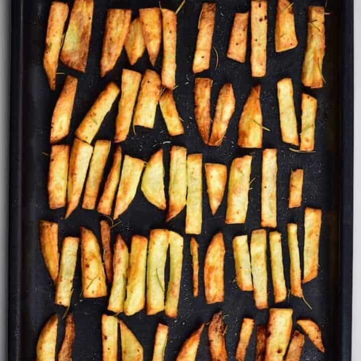 The Guide to getting the Perfect Crispy Baked Fries