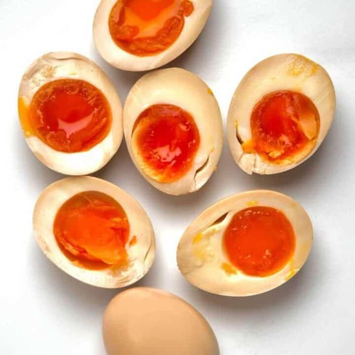 Soy-Marinated Ramen Eggs