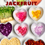 Donburi Jackfruit Ingredients
