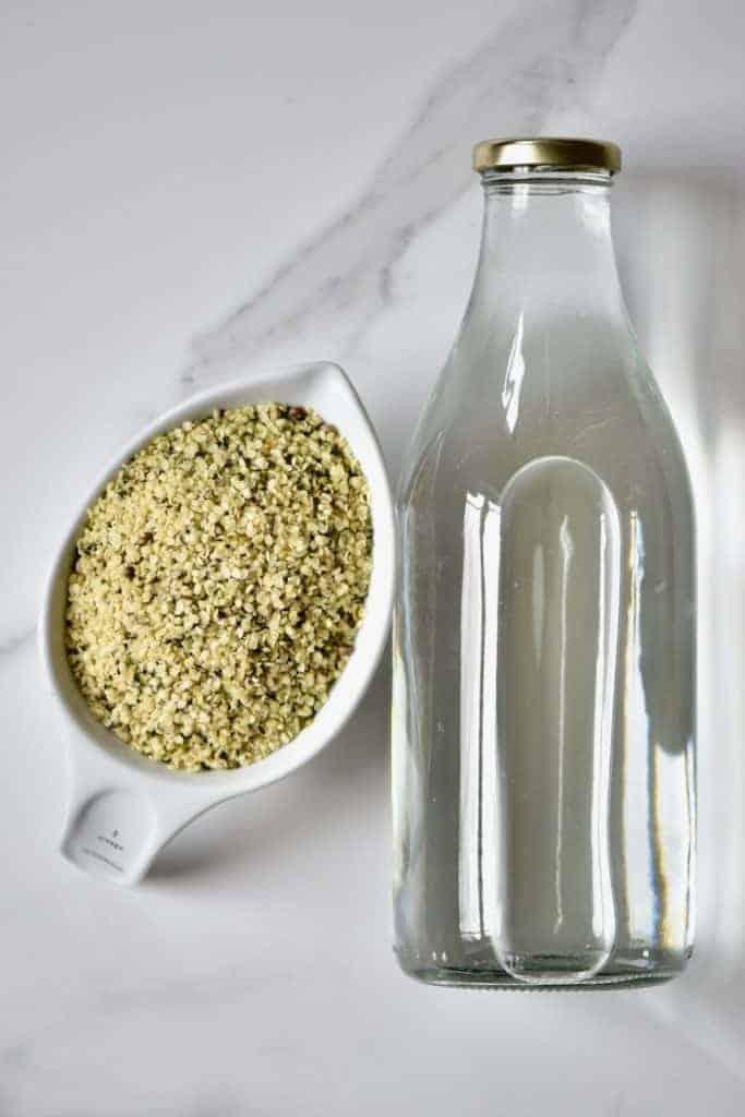 Ingredients of Hemp Seed Milk