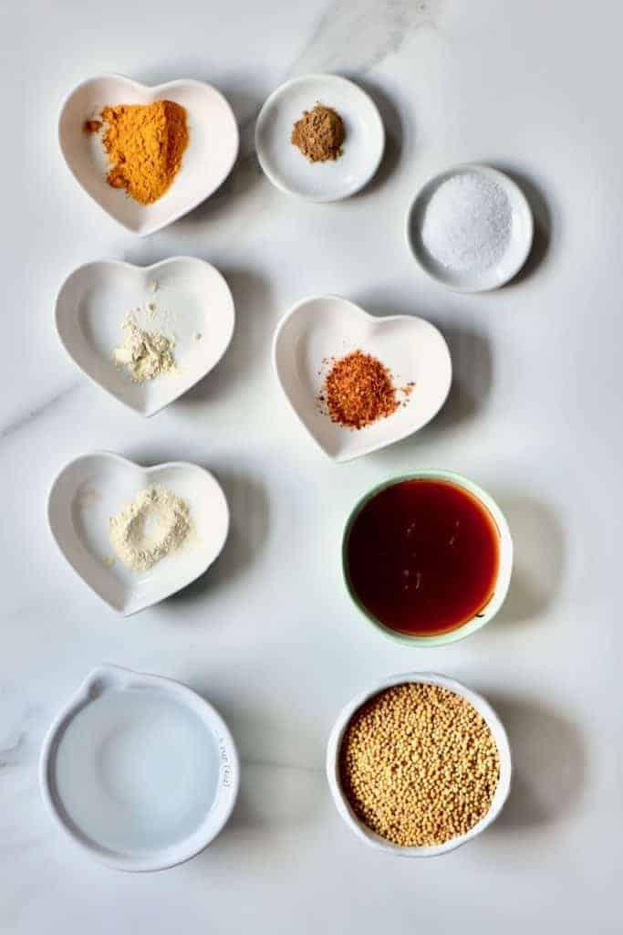 homemade mustard ingredients