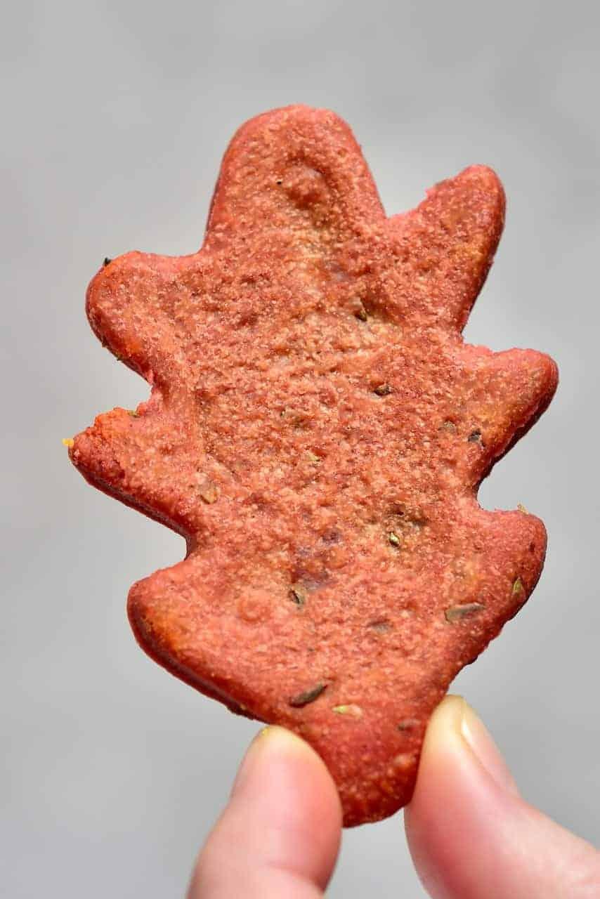 Red Autumn Leaf Cracker
