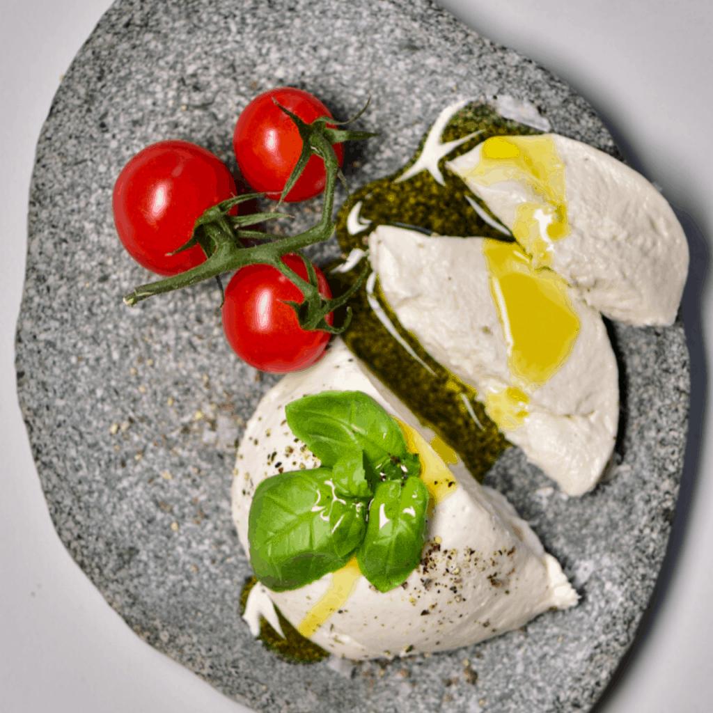 Square Vegan Mozzarella