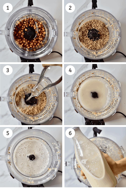 how to make homemade tiger nut milk
