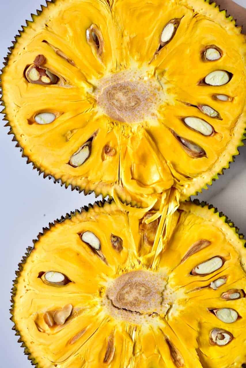 Two rounds of jackfruit