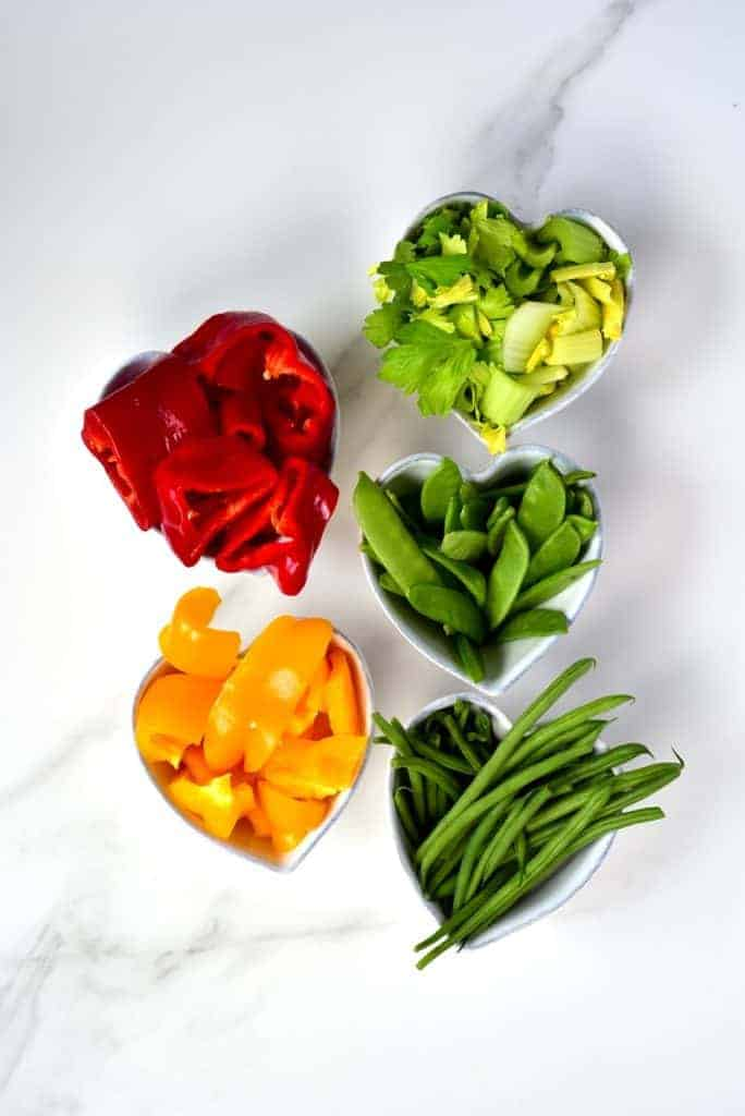 Vegetables that need boiling for the stew