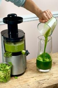Celery Juice and a juicer