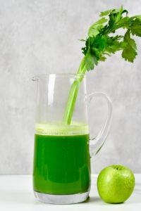Celery apple juice