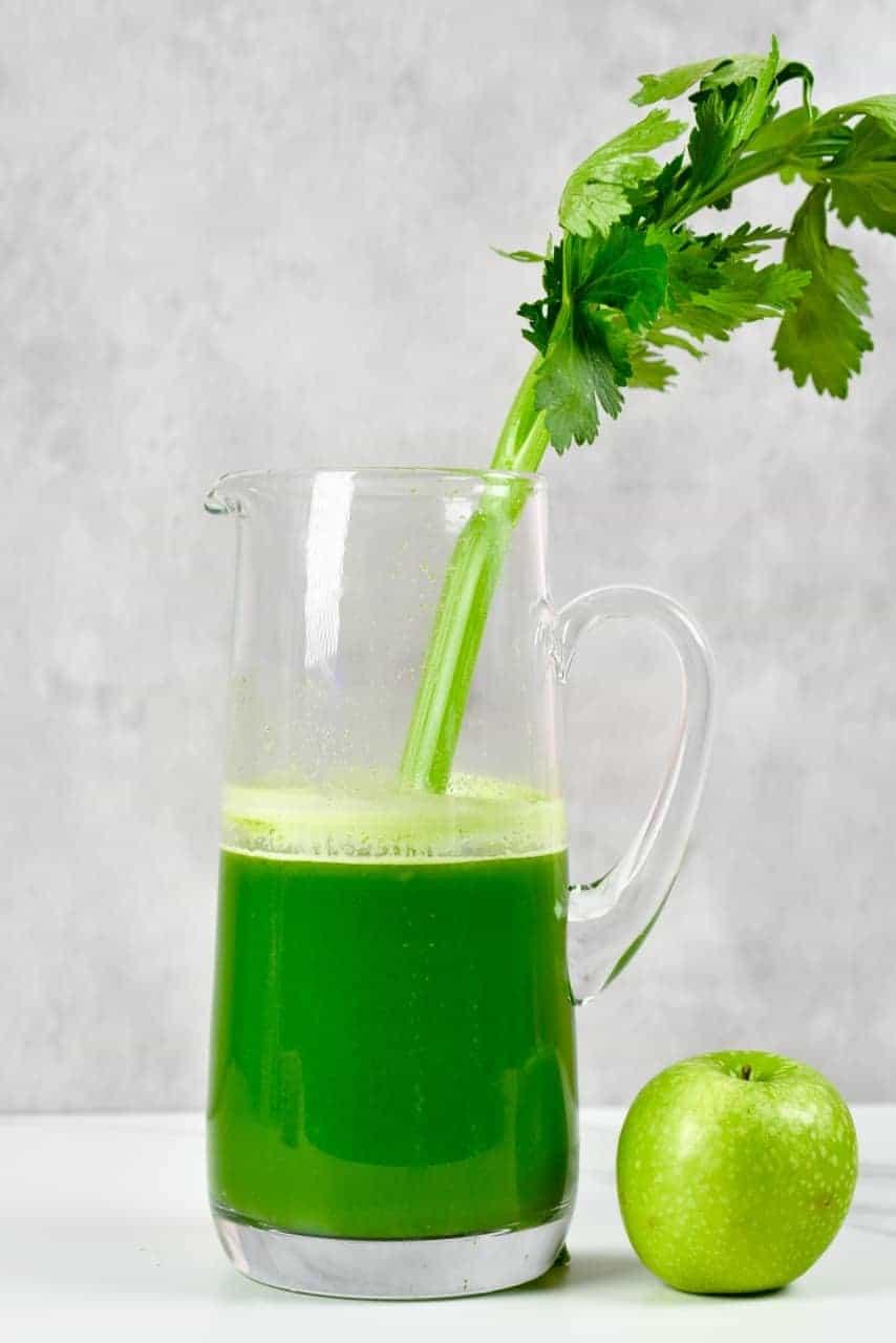 Celery Juice with apple